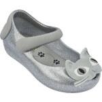 Dětské boty Mini Melissa Ultragirl II Silver/Glitter