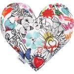 Desigual dekorativní polštář Heart Mini Cushion