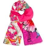 Desigual růžový šátek Soft New Jacky