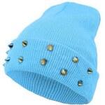 Ocuz Modrá vybíjaná čepice Beanie