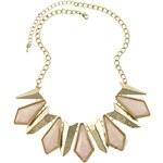 Lodestar Masívní geometrický náhrdelník růžový