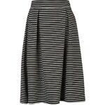Dámská sukně Golddigga Midi - černá/bílá