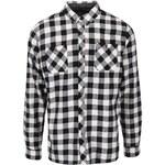 Krémovo-černá kostkovaná košile D-Struct Alaska
