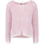 Krémovo-růžový krátký svetr ONLY Fantasia