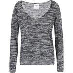 Bílo-černý žíhaný svetr Vero Moda Joelle