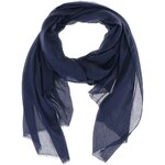 Tmavě modrý šátek Vero Moda Plain