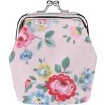 Světle růžová holčičí peněženka s květy Cath Kidston
