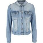 Modrá džínová bunda SisterS Point Flora