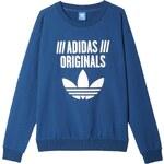 Dámská mikina adidas Light Sweatshirt modrá