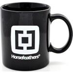 Hrnek Horsefeathers Black logo 0,3l