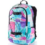 Batoh Meatfly Basejumper watter checkes pink 20l