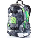 Batoh Meatfly Basejumper watter checkes green 20l
