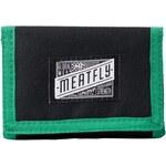 Peněženka Meatfly Unity black-kelly green