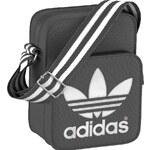 Taška Adidas Mini Bag Adicolor solid grey-white