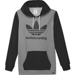 Mikina Adidas Clima 3.0 Hood heather-black XXL