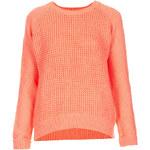 Topshop Knitted Mix Stitch Jumper