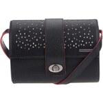 Černá kabelka kufříkového typu Skunkfunk Albesa