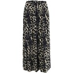 Černá leopardí maxisukně Vero Moda Easy