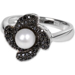 Silver Cat Stříbrný prsten s krystaly SC061 56 mm