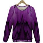 KOKO Fialová mikina Shades of Purple