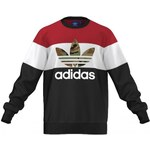 Mikina Adidas Block It Out Crew black L