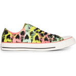 Converse As Skull Print Ox Can black pink