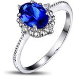 Eppi Tanzanitový prsten s diamanty Revaya
