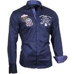 BINDER DE LUXE košile pánská 81101 dlouhý rukáv