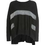 Deha černý oversize svetr