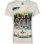 SoulCal Wave Photo T Shirt Ecru Small
