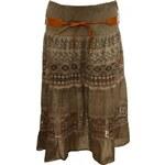 Made in Italy Dámská letní sukně s páskem