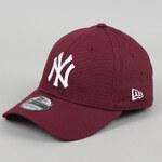 New Era 3930 League Essential NY vínová