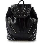 Dámský černý batoh Style Marlen 11012