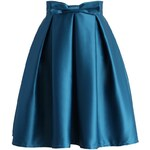 CHICWISH Dámská sukně Midi Safír Velikost: L