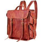 Delton Bags Kožený batoh Oldschool N7-8-4074