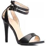 VICES Dámské páskové sandálky Hot černé