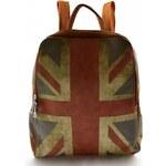 Dámský hnědý batoh Englis Marlen 11014