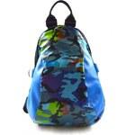 Dámský do modra barevný retro-sportovní batoh Trip Marlen 11058