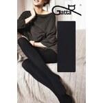 Gatta Černé dámské punčochové kalhoty Touch Of Cashmere Nero