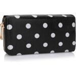 L&S Fashion (Anglie) Peněženka LS1062 černá