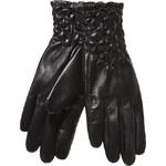 Baťa Dámské kožené rukavice s prošíváním