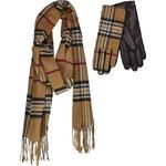 JUNEK gloves and scarf set