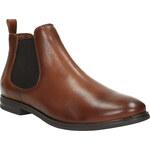 Baťa Kožené hnědé Chelsea Boots
