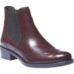 Baťa Kožené boty chelsea se zdobením typu brogue