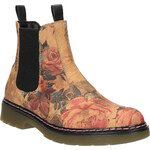 Baťa Kožené Chelsea Boots s květinovým vzorem