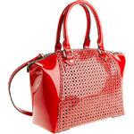 Baťa Červená lesklá kabelka