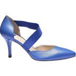 Baťa Elegantní kožená pásková obuv
