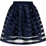 MOSQUITO Dámská sukně Stripes modrá Velikost: M