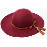 Esprit Filcový klobouk s páskem a střapcem, vlna