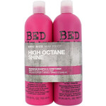 Tigi Bed Head Recharge Duo Kit dárková sada W - 750ml Bed Head Recharge High Octane Shampoo + 750ml Bed Head Recharge High Octane Conditioner Pro lesk a oživení vlasů